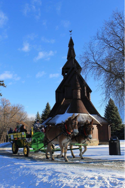 Sleigh Ride Stave Church